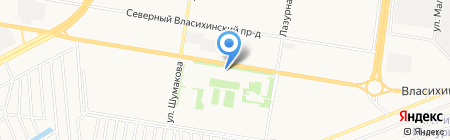Светлячки на карте Барнаула