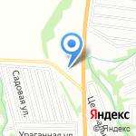 Метр на карте Барнаула