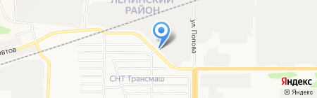 Ресурсы Алтая на карте Барнаула