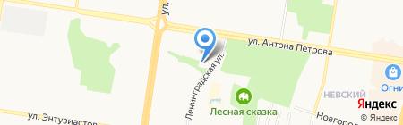 АлтайТеплоСнаб на карте Барнаула