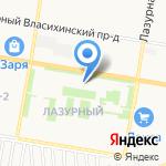 Созвездие на карте Барнаула