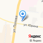 Ломбард-Кристалл на карте Барнаула