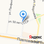 РунгисЪ на карте Барнаула