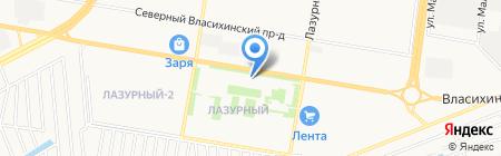 Комплексное Снабжение на карте Барнаула
