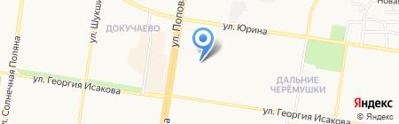 Детский сад №163 Березонька на карте Барнаула