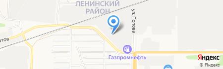 АВТО-ГСМ на карте Барнаула