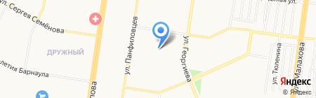 МонолитСтрой на карте Барнаула