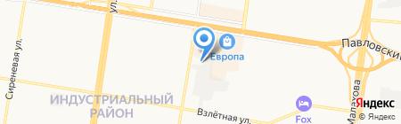 Zавто на карте Барнаула