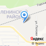 Мурена на карте Барнаула