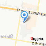 Беа-Зал-1 на карте Барнаула