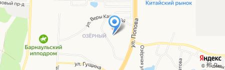 Детский сад №209 Росток на карте Барнаула