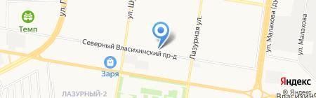 166 на карте Барнаула