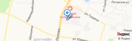 Городская детская больница №2 на карте Барнаула