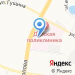 Краевой центр медико-психологической и социальной помощи беременным женщинам на карте Барнаула