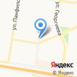 Джулия на карте Барнаула