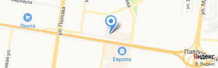 RNP на карте Барнаула