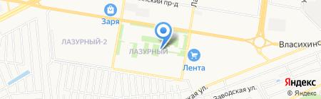 Медиус Групп на карте Барнаула