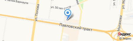 A.dress на карте Барнаула