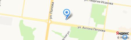 Новый-Барнаул на карте Барнаула