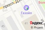 Схема проезда до компании Деревянный в Барнауле