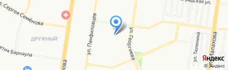 Диагностический центр на карте Барнаула