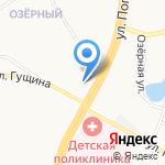 Храм Апостола Андрея Первозванного на карте Барнаула