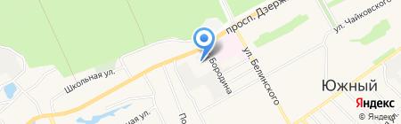 АБАД СК на карте Барнаула