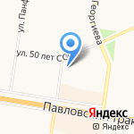 Student Smart на карте Барнаула