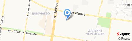 ДЮСШ №7 Скиф на карте Барнаула