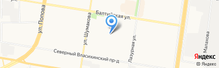 AaPPLE на карте Барнаула