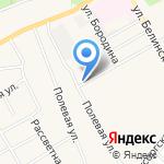 Сыры Алтая на карте Барнаула