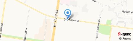 Ткани от Яниных на карте Барнаула