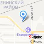 Фрайбу Транспорте на карте Барнаула