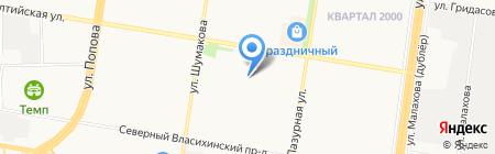 СтройПотенциал на карте Барнаула