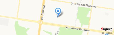 Детский сад на карте Барнаула