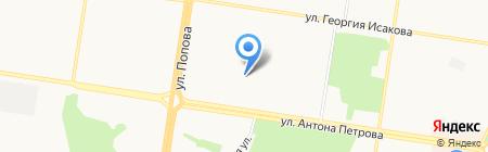 Tasty Coffee на карте Барнаула