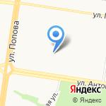 Флёр на карте Барнаула
