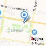Ёрш на карте Барнаула
