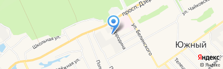 Торгово-транспортная компания на карте Барнаула