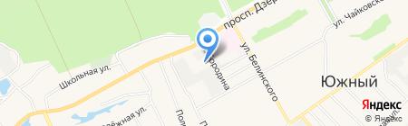 Крестьянско-фермерское хозяйство Жданова А.Н. на карте Барнаула