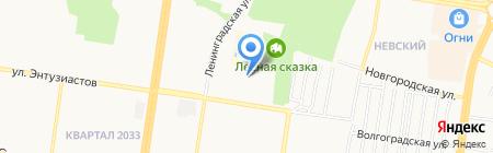 SoccerCleats на карте Барнаула