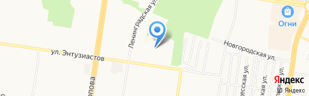 Сафари-парк на карте Барнаула