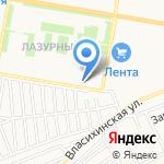 Дровник на карте Барнаула