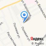 Гардения на карте Барнаула