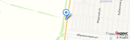 АЗС Октан на карте Барнаула