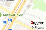 Схема проезда до компании Мотор в Барнауле