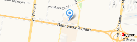 Стиль класс на карте Барнаула