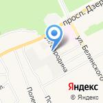 Творческая мастерская ЯРТ на карте Барнаула