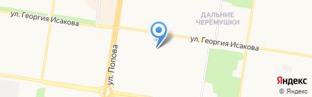 Муж на час на карте Барнаула