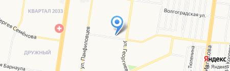 ГлавПивМаг на карте Барнаула